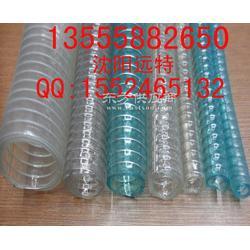 钢丝管耐寒耐磨钢丝软管防冻pvc管食品钢丝透明管图片