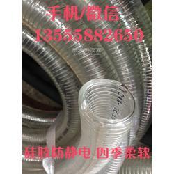硅胶钢丝透明管规格型号 pvc钢丝透明软管规格尺寸图片
