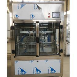 油类灌装机,润滑油类灌装机,青州鲁泰机械图片