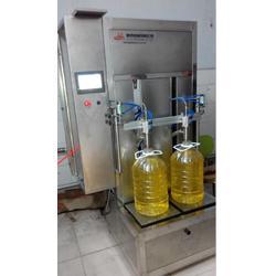油类灌装机、全自动油类灌装机、青州鲁泰机械(多图)图片