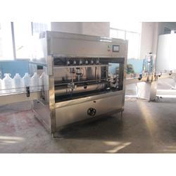 5L食用油灌装机、通化食用油灌装机、青州鲁泰机械(图)图片