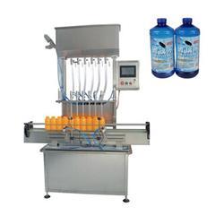 青州鲁泰机械、机油灌装机、机油灌装机械图片