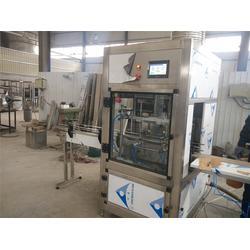 青州鲁泰机械(图)|半自动油类灌装机|油类灌装机图片