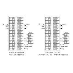 百特仪表(图) 手操器DFQ566RS485 手操器图片