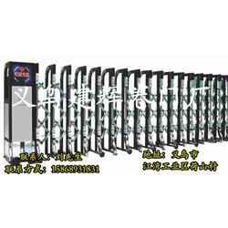 建辉电动伸缩卷帘门质量过硬,安装电动伸缩门,义乌电动伸缩门图片