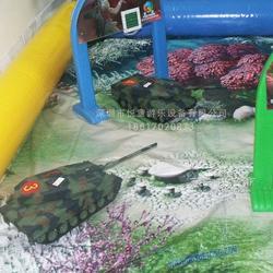 適合室內外的兒童游樂場、廣場公園的兒童游樂設備 方向盤遙控坦克圖片