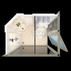 集装箱房整体浴室整体卫浴整体卫生间图片