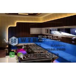 高端餐厅卡座沙发图片