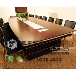 实木会议桌厂家图片