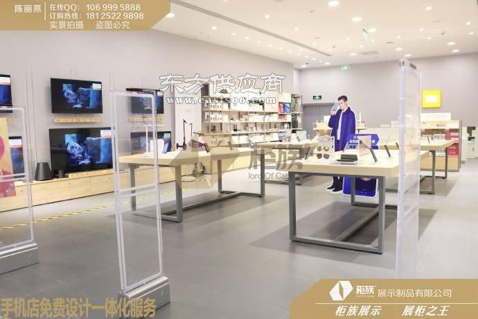 那个厂家可以制作小米专卖店授权店店面效果图,柜台布置图
