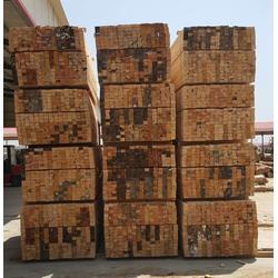 博通木材加工厂、白松方木、白松方木厂家图片