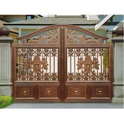 山东铝艺大门、铝艺大门用途、靓景铁艺图片