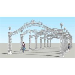 铁艺廊架景观用途|山东铁艺廊架景观|靓景铁艺图片