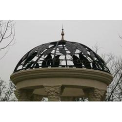 铁艺穹顶、威海铁艺穹顶、靓景铁艺(多图)图片