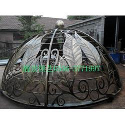 靓景铁艺(多图)、铁艺穹顶廊架、穹顶图片