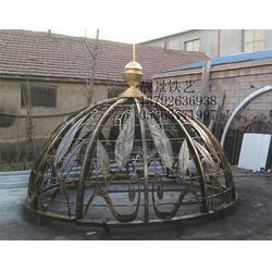 小区穹顶、穹顶、临朐县靓景铁艺制品厂(查看)图片