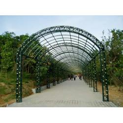 山东铁艺廊架景观,靓景铁艺(优质商家),铁艺廊架景观图片