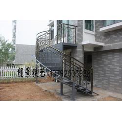 旋转楼梯,靓景铁艺,铁艺旋转楼梯扶手图片