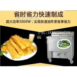 商用电动油水分离油条机 油炸锅商用 食堂电炸炉图片