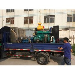 广州高压水清洗、冷凝器高压水清洗、易邦环保图片