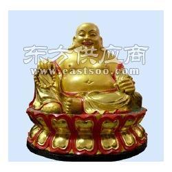 弥勒佛祖铜像-铸铜雕塑工艺品怎样保养图片