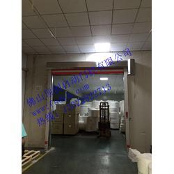 东莞PVC快速卷帘门、PVC快速卷帘门安装、顶创自动门门控图片