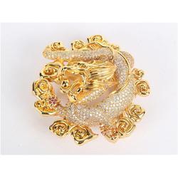 动物镶钻皮带扣|明金镶钻皮带扣(在线咨询)|皮带扣图片