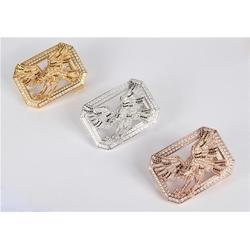 明金镶钻皮带扣(图)_动物皮带扣_皮带扣图片
