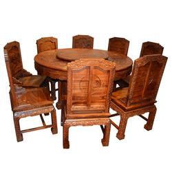 采购红木(酸枝)圆台(桌),红木(酸枝)圆台(桌),鸿名堂图片
