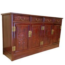 贵州红木(酸枝)餐边柜、鸿名堂、红木(酸枝)餐边柜图片