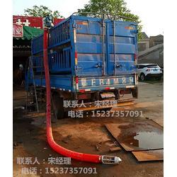 随车携带吸粮机 吸粮吸沙两用机 软管吸粮机图片
