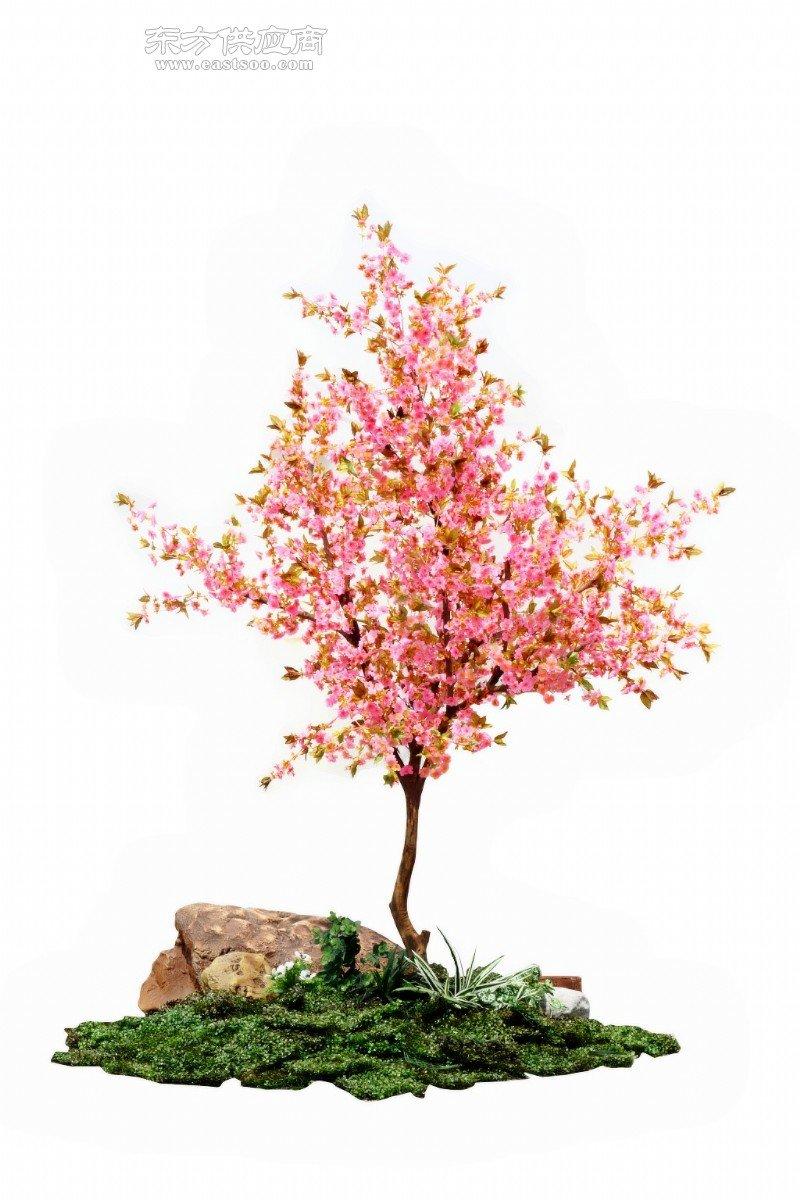 人造仿真樱花树 仿真白色樱花树