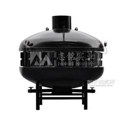 供应志铭实业大型烤鱼炉 UFO烤鱼炉设备 烤鱼炉子图片