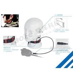 战术喉麦 喉骨传导耳机 喉麦 喉骨耳机图片