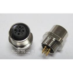 传感器连接器M12航空插座图片
