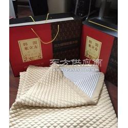 韩国米立方床垫 压力缓释床垫 韩国能量床垫 会销礼品床垫现货图片
