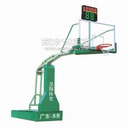 灌神牌002电动液压篮球架图片