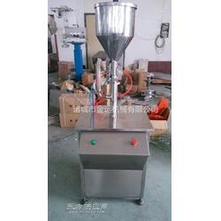 小型灌装机 手动灌装机 酱类灌装机图片