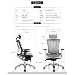 电脑椅,GAVEE家维依家居(在线咨询),人体工学电脑椅图片