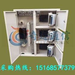 48芯三网合一光纤分纤箱FTTH楼道箱OUN网络箱图片