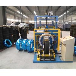 轮胎自动包装机、东塑(在线咨询)、昌吉轮胎包装机图片
