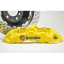 揽胜改装Brembo案例分享、新乡Brembo、广州赛驱改装图片