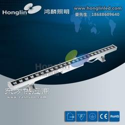 供应LED24W方形格栅透镜洗墙灯外置电源盒线条灯图片
