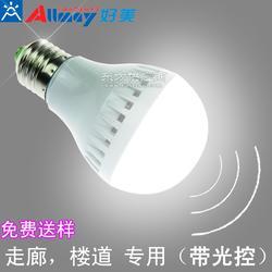 5WLED应急球泡灯,厂家直销生产,楼道,商场专用LED球泡灯图片