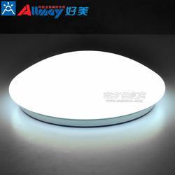 行业首创微波感应吸顶灯 一体化吸顶灯 圆形雷达感应LED吸顶灯图片