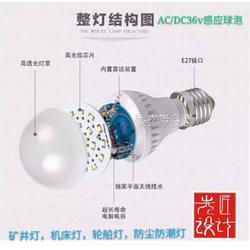 机床灯,轮船专用球泡灯,防尘,防潮感应LED灯泡,工厂图片