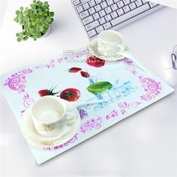 硅胶餐垫 长方形欧式 防水西餐垫隔热垫 儿童学生餐垫 欢迎来图定制图片