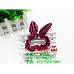 兔耳朵发圈定制,环亚饰品厂(在线咨询),兔耳朵发圈图片