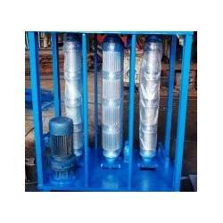 昌隆压瓦机研究制作的卧式液压打拱机已上市欢迎朋友选购图片