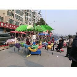 儿童旋转小飞鱼 电动旋转木马 两用型秋千鱼 广场游乐设备图片
